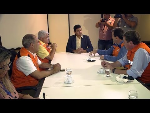 Prefeito se reúne com Defesa Civil Nacional para discutir sobre o Pinheiro