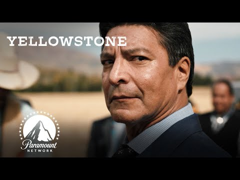Sharing Native American Stories | Yellowstone | Paramount Network