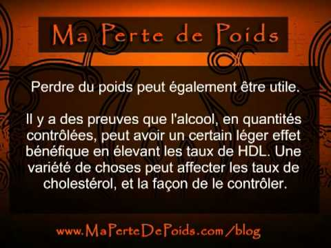 comment augmenter hdl et baisser ldl