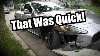 Bought A Maserati - Was Wrecked Inside A Week by Super Speeders