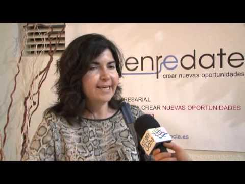 Paloma Tarazona de FEVECTA en Enrédate Alzira