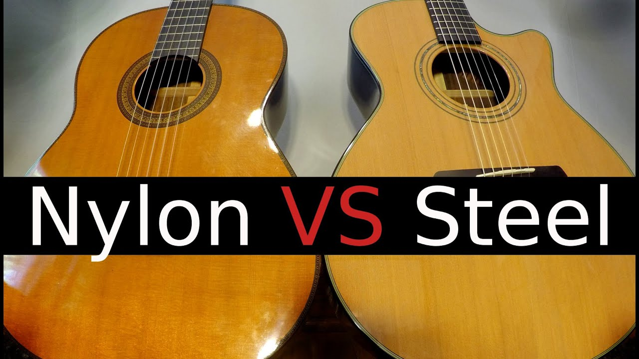 Nylon String vs Steel String Guitar! – Which One Should You buy?