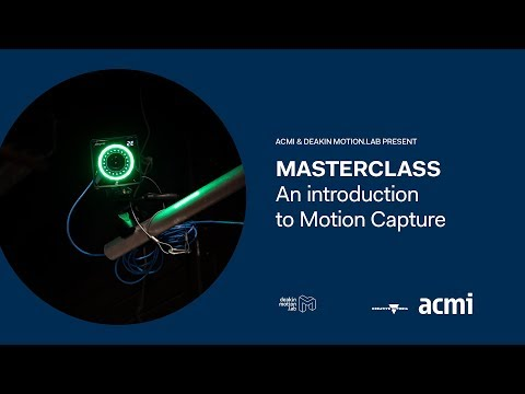 Masterclass: An Introduction to Motion Capture