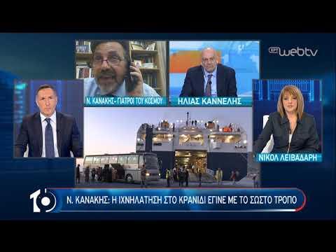 Η απειλή του κορονοϊου στις ευάλωτες δομές των μεταναστών | 21/04/2020 | ΕΡΤ
