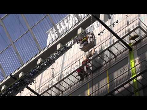 神戸最長の50メートル級はしご車