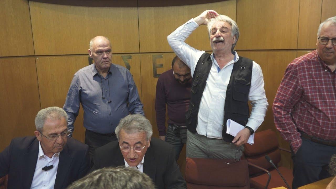 Ένταση στη συνεδρίαση της Ολομέλειας της ΓΣΕΕ