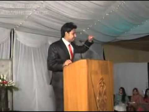 Funny Speech ever in urdu punjab university