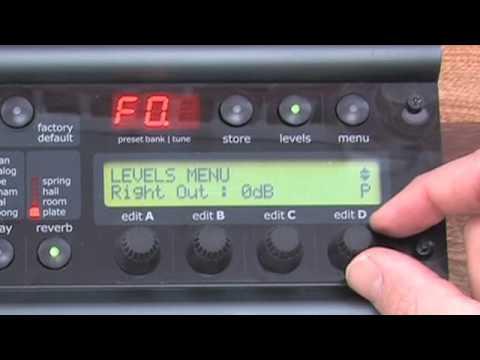 Nova System - Setting different output levels