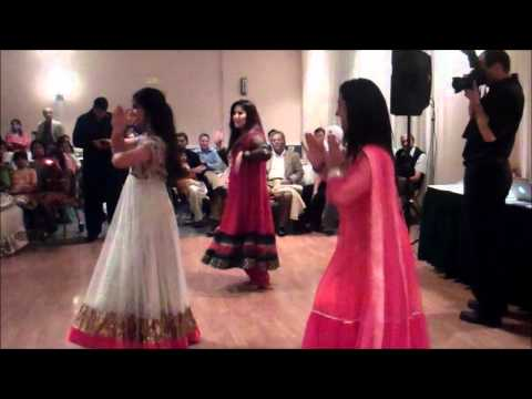 mehndi dance - NOT OUR SONGS: First dance choreography: http://www.youtube.com/watch?v=lDv2h7v0Exg Second dance: http://www.youtube.com/watch?v=paKGqVUlfoA&feature=plcp Fou...