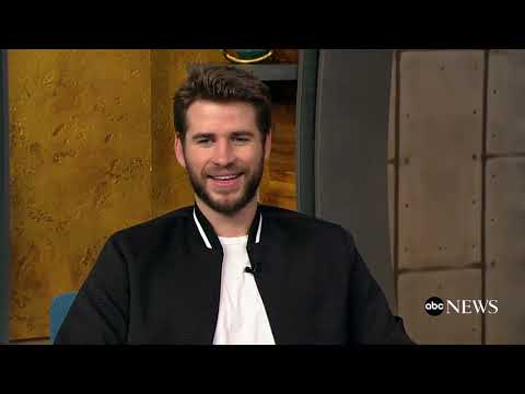Newlywed Liam Hemsworth talks his new film, 'Isn't It Romantic'