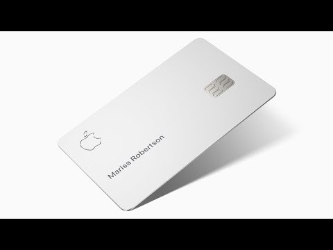 Apple Card Design