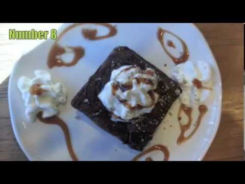 Starbucks Brownie Design, food art