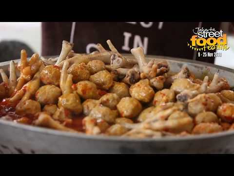 Liputan Jakarta Street Food Festival 2018