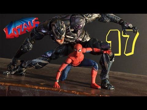 SPIDERMAN STOP MOTION Action Video Part 17 (видео)