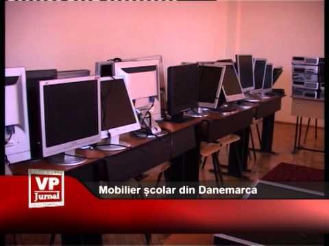 Mobilier școlar din Danemarca