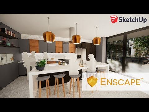 Enscape Tutorial - Give Your Architectural Project a Reality Boost