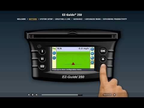 EZ-Guide 250 Video Demo