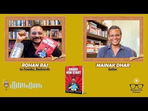 Booknerds Podcast | Mainak Dhar | Brand New Start