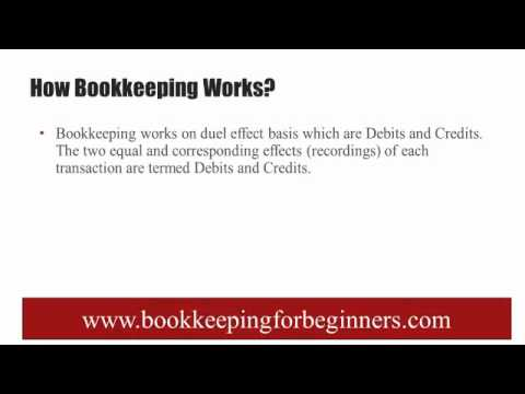 Bookkeeping for Small Business – Basics and Learning Tutorials to Understand How Bookkeeping Works