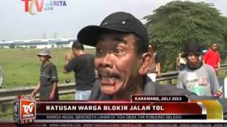 Video Tol Jakarta Cikampek di Blokir Ratusan Warga Karawang Dari 3 Desa MP3, 3GP, MP4, WEBM, AVI, FLV Oktober 2018