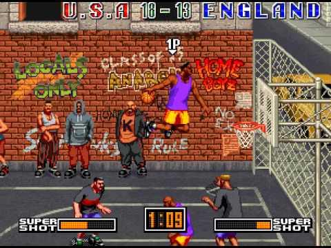 Street Hoop Neo Geo