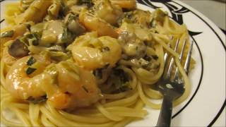 Shrimp in a Special Creole Lemon Beurre Blanc Sauce by Louisiana Cajun Recipes