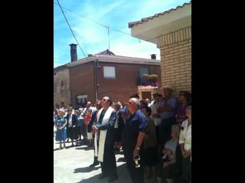 Homenaje de Cubillo del Campo al Padre Julian Heras