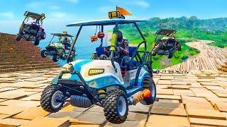 EXTREME CUSTOM RACE TRACK In Fortnite Playground v2