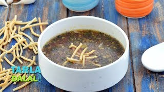 Manchow Soup,famous Chinese soup!! (English Video) Recipe link...