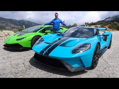 DRIVING IN CAPTAIN SPARKLEZ $500,000 FORD GT!