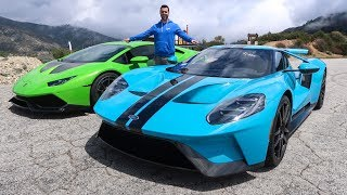 DRIVING IN CAPTAIN SPARKLEZ $500,000 FORD GT! by Vehicle Virgins