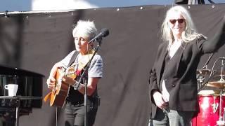 Joan Baez and Patti Smith singing Imagine by John Lennon  (2016)