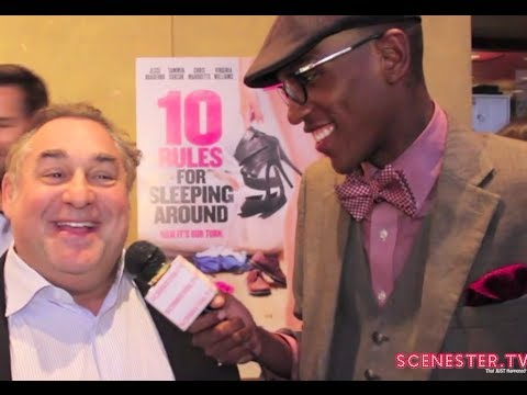Producer Leslie Greif Interviews At 10 Rules For Sleeping Around Movie Premiere!