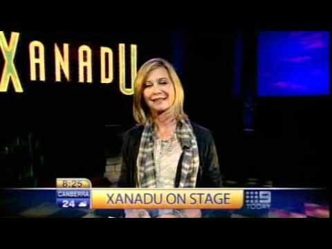 Olivia Newton-John at the Today Show for Xanadu The musical