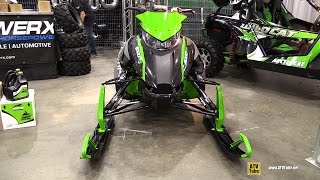 7. 2015 Arctic Cat 8000 RR Snowmobile - Walkaround - 2014 Toronto ATV Show