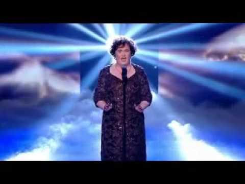 HD/HQ Susan Boyle Wins - with Memory from Cats - Semi finals Britains Got Talent 2009 May 24