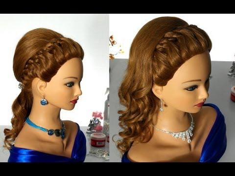 Прически и плетение на средние волосы