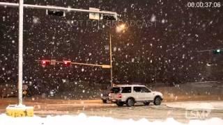 Beatrice (NE) United States  city photos : 1-7-16 Beatrice, NE; Heavy Snow