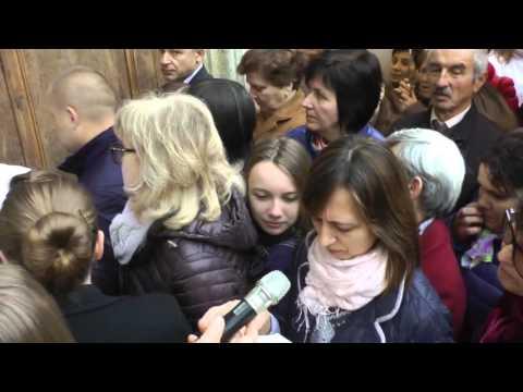 Celebrazione della Pasqua secondo il rito orientale con la comunità cristiano cattolica dell'Ucraina