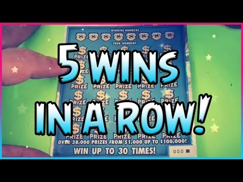 5 WINS IN A ROW!! 100x the Cash – Group Book – Part 1 – Florida Lottery Scratchers