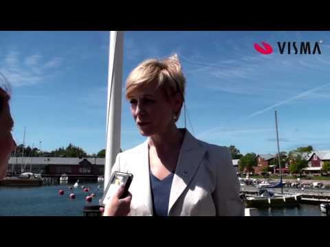 Leena Harkimon haastattelu tekijä: Visma Finland