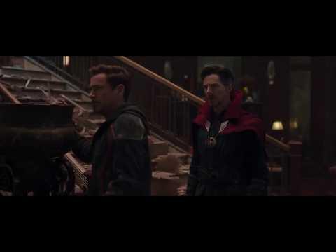 Iron Man and Doctor Strange Funny Scene Avengers Infinity War