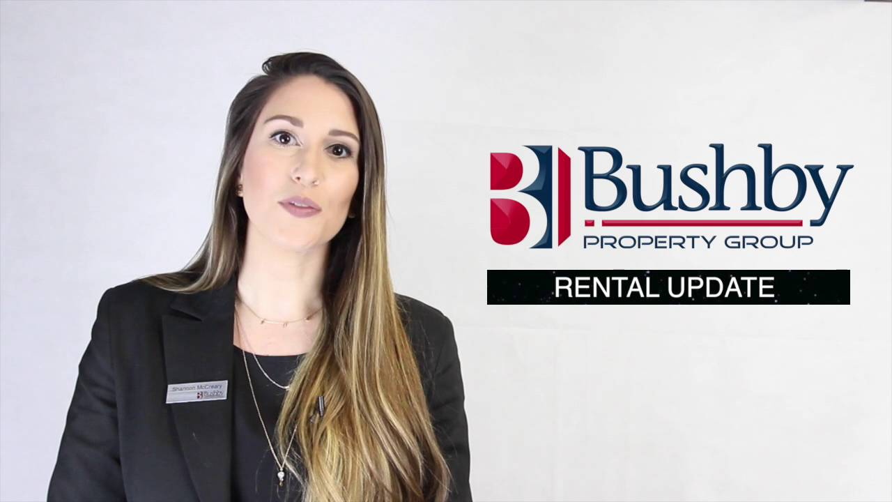 Bushby Property | Rental Update!