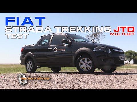 Fiat Strada Trekking 3 Puertas JTD Multijet Test Routière -  Pgm 342