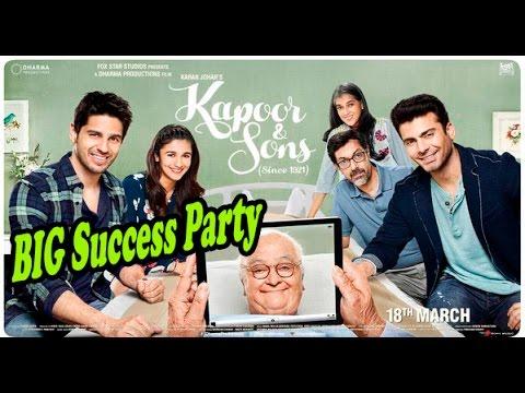 Kapoor And Sons 2016 Success Party   Alia Bhatt, Sidharth Malhotra, Fawad Khan