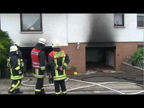 Landau: Ehepaar durch Werkstattbrand verletzt
