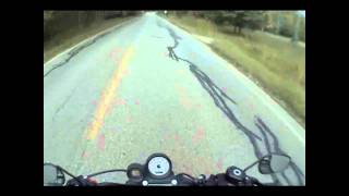 5. 2011 Harley Davidson XR1200X Ride Review