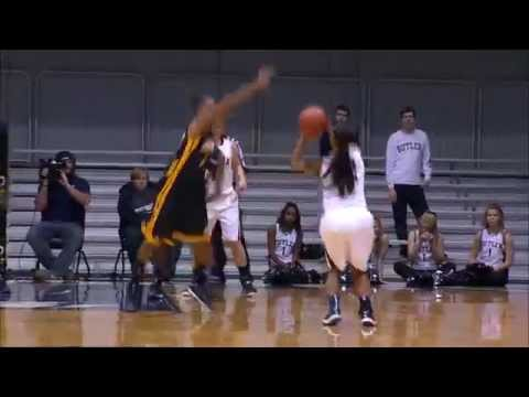 Butler Women's Basketball Highlights vs. Chattanooga