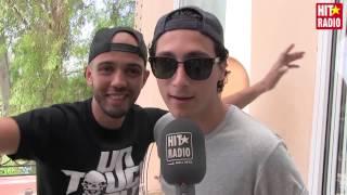Petit message de Younes et Bambi au public marocain et à HIT RADIO