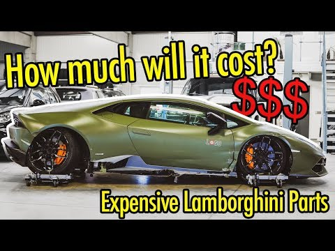 Rebuilding My Wrecked Lamborghini Huracan - The Costs (german Goonzquad)